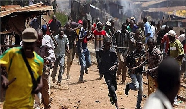 Youths on the rampage in Kafanchan