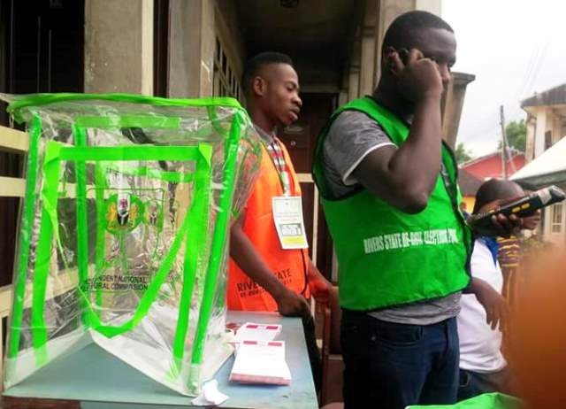 Voting Ongoing In Tense Rivers Legislative Re-Run Elections