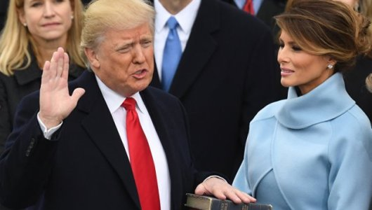 """""""I Will Be Your President"""" – Trump Tells Americans As He Takes Oath Of Office"""