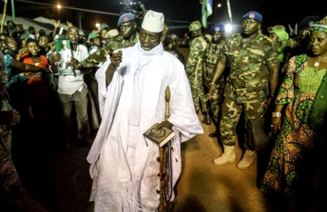 Gambia's Parliament Okays State Of Emergency As Nigeria Sends Troops