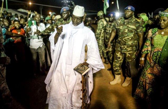 Gambia's Parliament Okays State Of Emergency As Nigeria Sends Troops