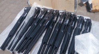 Customs Seize 661 Pump Action Rifles, DSS Takes Custody