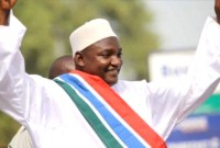 President Adama Barrow Of The Gambia Gives Credit To ECOWAS