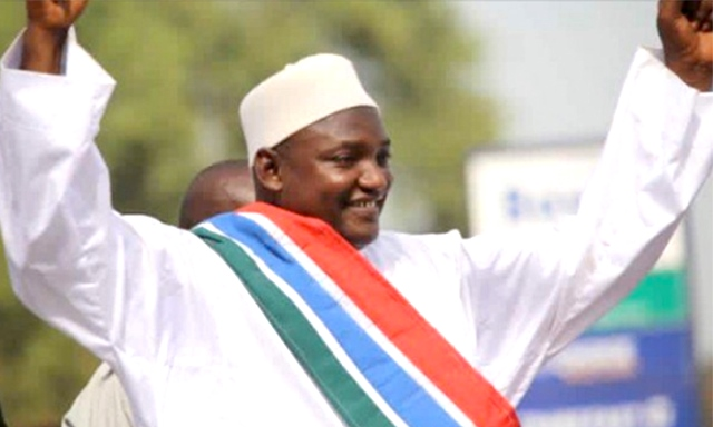 President-elect of The Gambia, Adama Barrow
