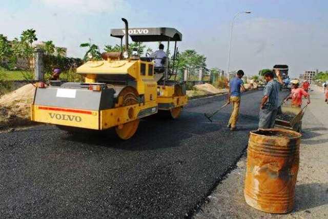 Robots Building Roads