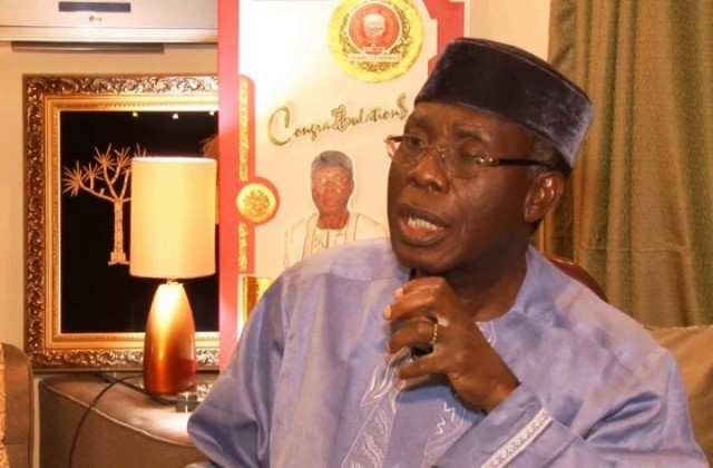 Minister for Agriculture, Audu Ogbeh