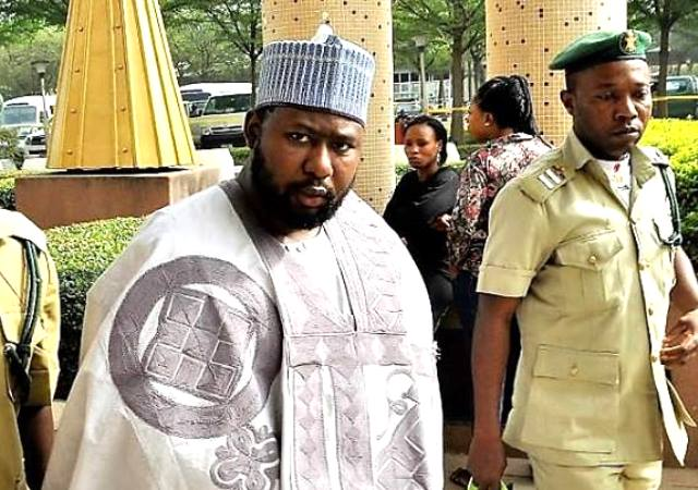 Shamsudeen Bala-Mohammed being led into the court on Friday