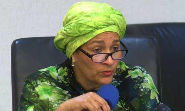 Minister of Environment, Amina Mohammed