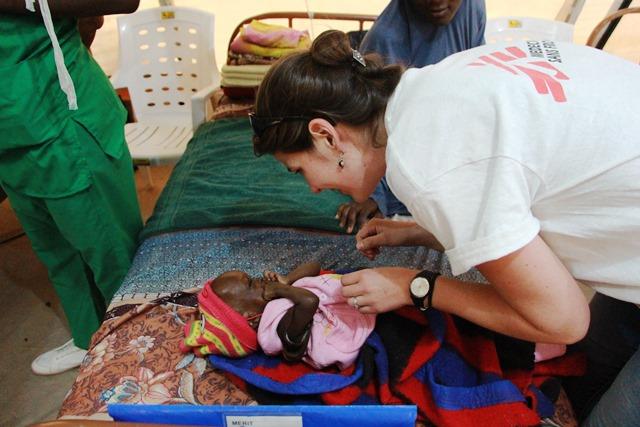 msf opens third children feeding centre in maiduguri