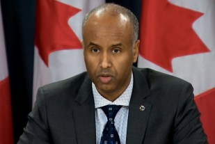 Canada's Minister of Immigration, Refugees and Citizenship, Ahmed Hussen