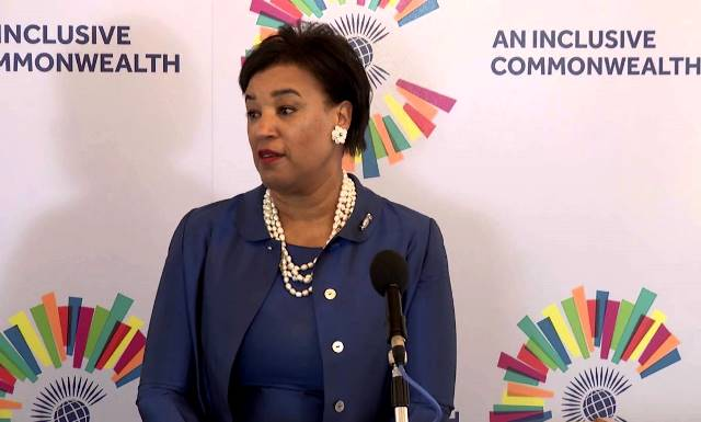 Commonwealt Secretary General, Patricia Scotland