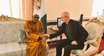 Buhari Hosts Archbishop of Canterbury In London