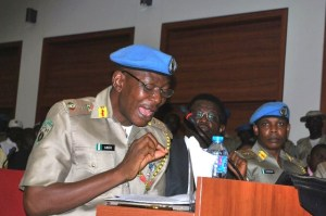 Commandant of the Peace Corps of Nigeria, Dickson Akoh