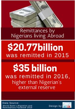 Nigerians Diaspora Remittance 1