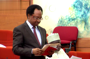 Chairman of the Senate ad-hoc committee on mounting humanitarian crisis in the North East, Shehu Sani