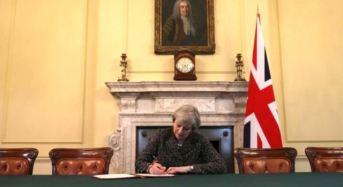 UK Begins Formal Brexit Process