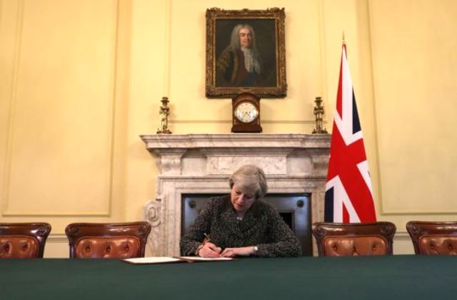 UK Prime Minister, Theresa May