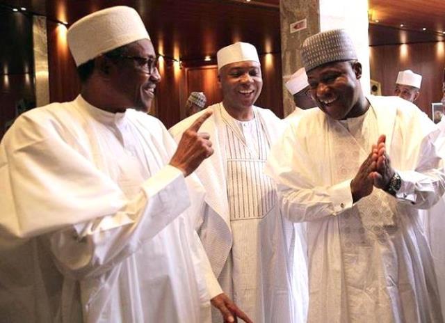 Executive Senate Face-Off Buhari Meets Saraki, Dogara