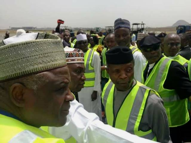 Osinbajo Hopeful Abuja Airport Will Re-Open April 19