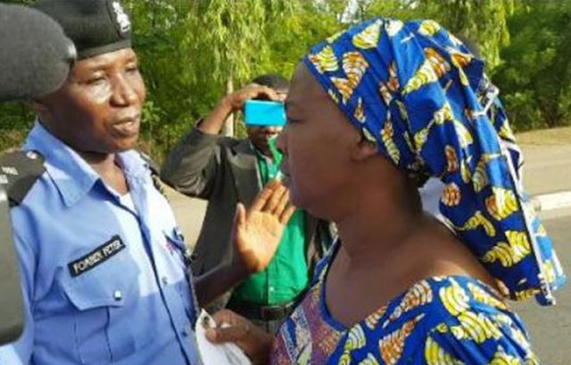 Police Bar Chibok Girls' Parents From Aso Villa