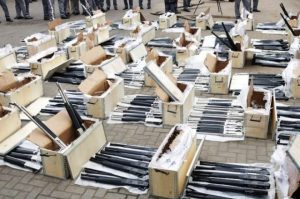 Customs Intercept Container-Full Of Arms