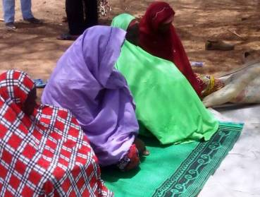 Fulani women who are members of Alhamdu Group in Nafori Community in Fufore Local Government, Adamawa state