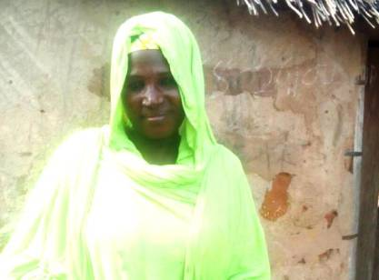 Hajia Nana Sani got fertiliser on credit from Alhamdu Group