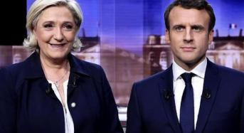 Macron, Le Pen Face-Off In French Presidential Election