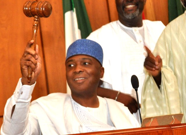 Senate President and Chairman of the National Assembly, Bukola Saraki