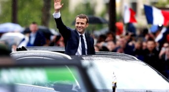 New French President, Macron Inaugurated