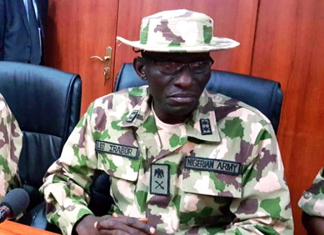 Theatre Commander of Operation Lafiya Dole, Leo Irabor, was redeployed as Field Commander of the Multinational Joint Task Force, MNJTF