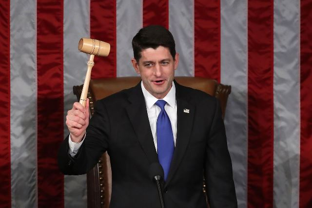 Speaker of the US House of Representatives, Paul Ryan