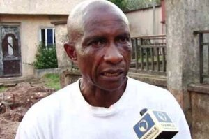 Stephen Onwuamadike, Evans' father