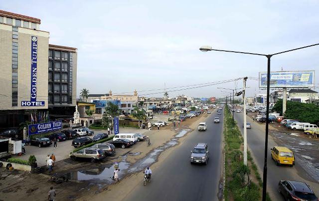 Lagos roads.