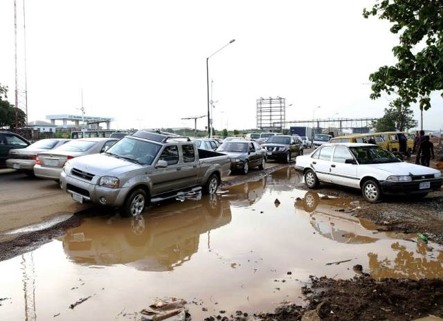 Poor State of Lagos Roads