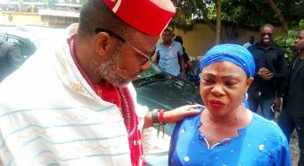 PHOTOS: Glaucoma patient begs Nnamdi Kanu for help