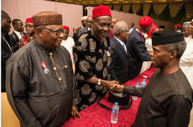 Osinbajo is doing well, but he is meeting with the wrong people – Abati