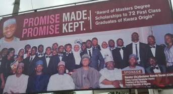 QUESTION: Was Saraki right to award scholarships with his 'dubious' pension? Well…