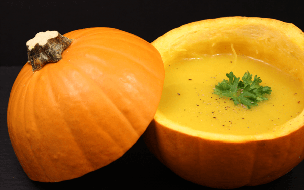Season Recipe: Pumpkin Soup