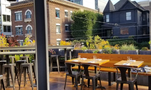 Lunch on a Rooftop in Capitol Hill