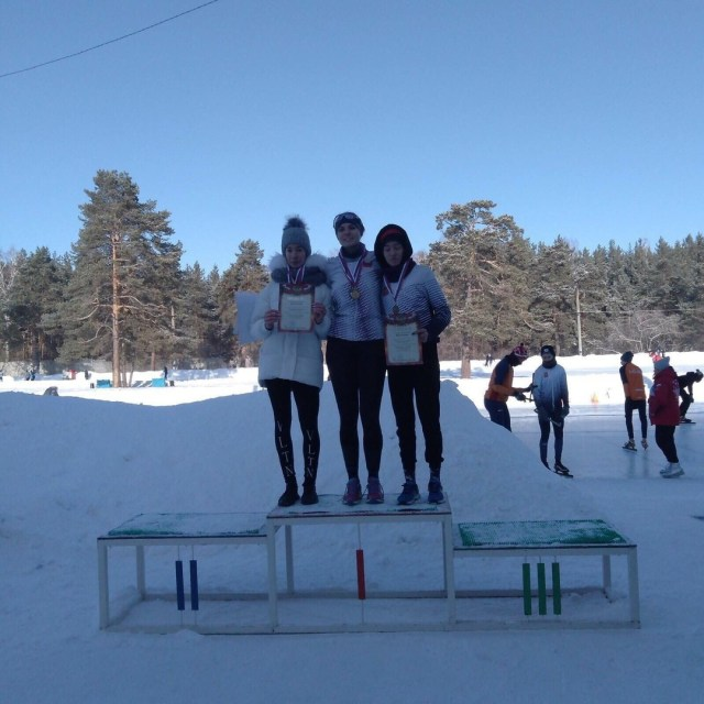 конькобежцы победители девушки спорт челябинск
