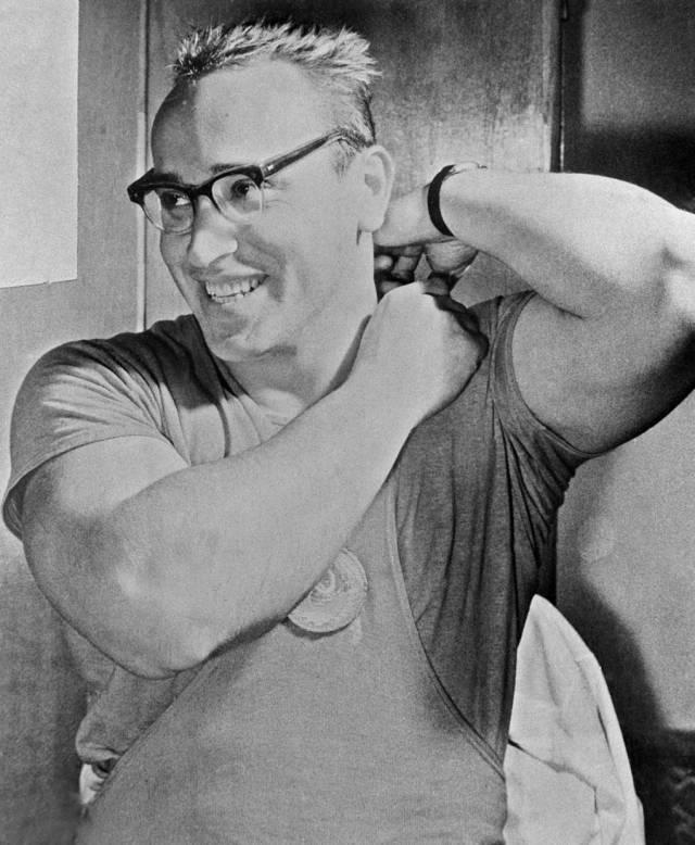 Юрий Власов, 1960 год