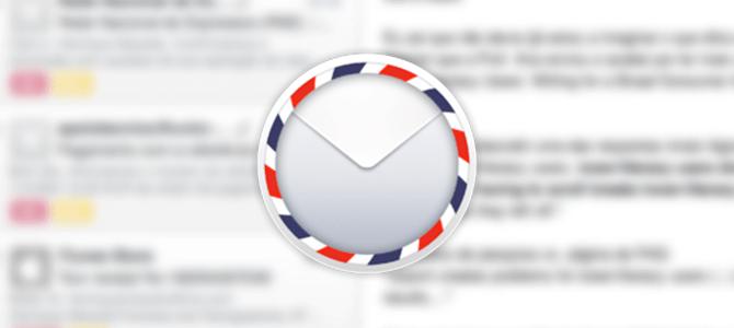 Airmail – um cliente de e-mail minimalista