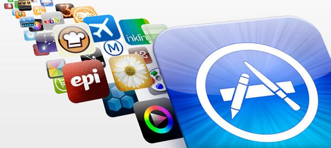 As cores mais utilizadas na App Store