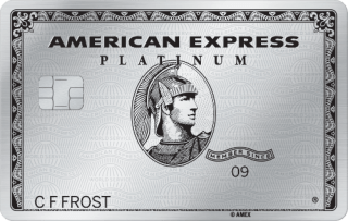 american express platinum for military