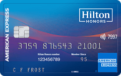 Hilton Honors American Express Surpass<sup>&#174;</sup> Card
