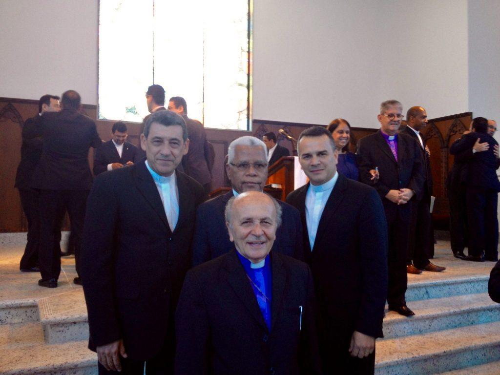 Bispo Rubem, Pastor Arlindo, Pastor Luiz Carlos, Pastor Otávio