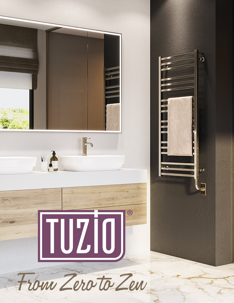 Heated towel warmers brochure - Tuzio