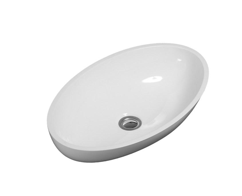 B9700 - Puccini Calma Vessel Sink - White