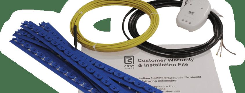 infloor heating CosyFloor Wire System